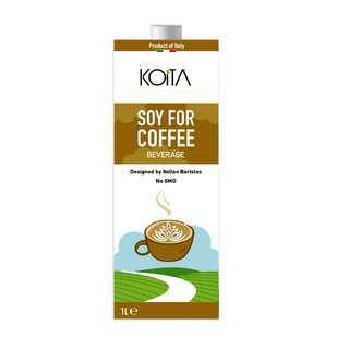 Koita Soy For Coffee Designed by Italian Barista