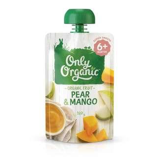 Only Organic PEAR & MANGO