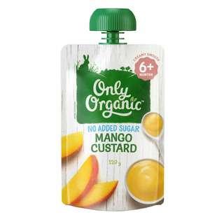 Only Organic MANGO CUSTARD