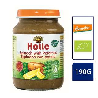 Holle Spinach with Potatoes