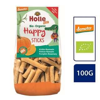 Holle Organic Happy Sticks Pumpkin-Rosemary