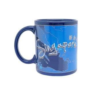 ACE Ceramic 10oz Blue Mug - Iconic Spore Map