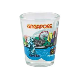ACE Clear Shot Glass - Singapore River Cruise (Single)