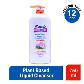 Pureen Liquid Cleansers Orange 750ml Ctn
