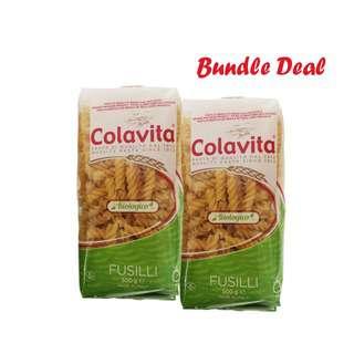 Colavita Bio Pasta - Fusilli Bundle Pack