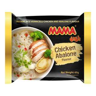 Mama  Instant Rice Vermicelli - Chicken Abalone 6 x 60g