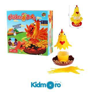 Kidmoro Chicken Drop, Family Fun and Party Game