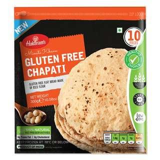 Haldiram's GlutenFree Chapati Phulka Roti - Frozen - Sonnamer
