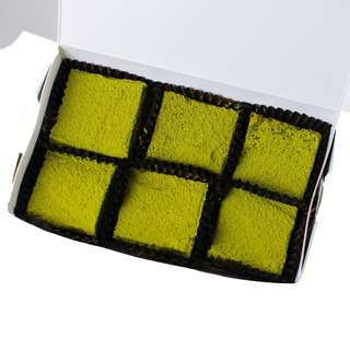 Edith Patisserie Matcha Blondies - Box of Six