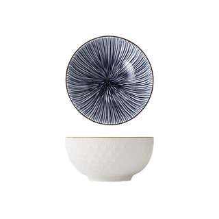 Table Matters Blue Illusion - 4.5 inch Rice Bowl