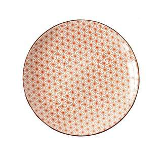 Table Matters Starry Red - 8 inch Rice Plate