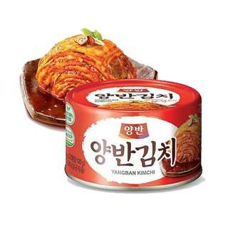 Dongwon Fermented Canned Cut Kimchi 160g