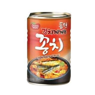 Dongwon Imported Canned Mackerel Pike for Kimchi Stew