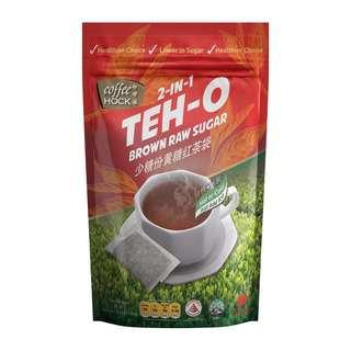 Coffeehock 2in1 Teh-O Ceylon Tea Bag w Brown Raw Sugar