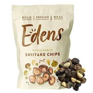 EDENS Garlic Shiitake Chips