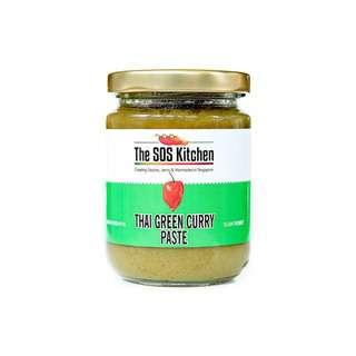 SOS CHATUCHAK - Vegetarian Thai Green Curry Cooking Paste