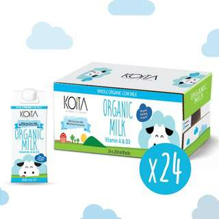 Koita Premium Organic Whole Milk
