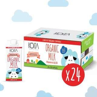 Koita Premium Organic Low-Fat Milk