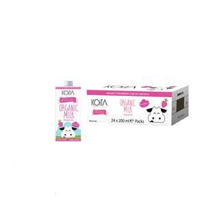 Koita Premium Organic Strawberry Milk