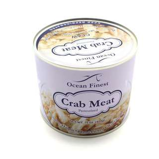 Ocean Finest Frozen Crab Meat - Claw Meat