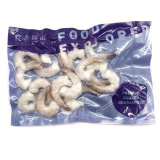 Food Explorer Frozen Raw Shrimp Meat with Tail-On