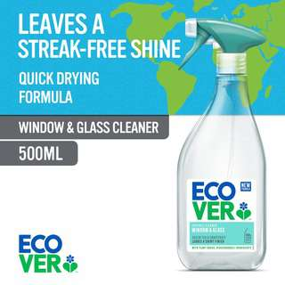 Ecover Window and Glass Cleaner, 500 ml