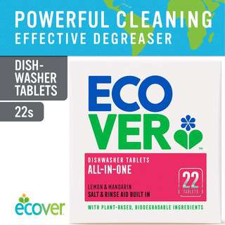 Ecover All-In One Dish Washer Tablets, 22ct