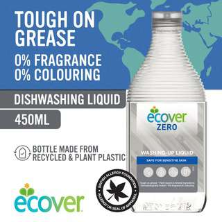 Ecover Zero Washing-Up Liquid, 450ml