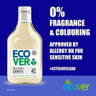 Ecover ZERO Non-Bio Laundry Liquid 1.5L,