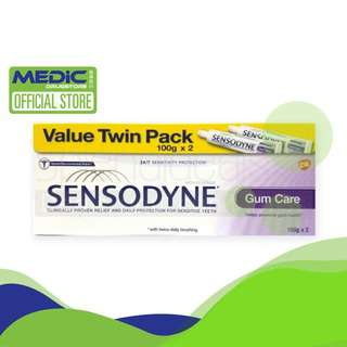 Sensodyne [Twin Pack] Gum Care Toothpaste 100G