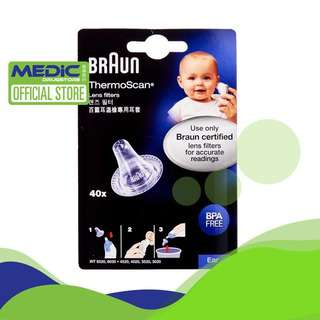 Braun Thermoscan Lens Filter (40's) - By Medic Drugstore