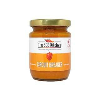 SOS CIRCUIT BREAKER - Vegetarian Extra Hot Habanero Sauce