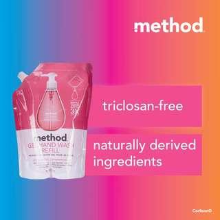 Method Gel Hand Wash Refill - Pink  Grapefruit