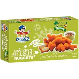 DODO Kiddos Fish Nuggets - Mixed Vege