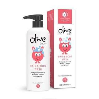 Olive Baby Hair & Body Wash