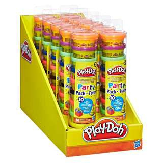 Play-Doh Party Pack (10 Mini Cans), Arts and Craft, Kids Toys