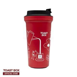 Toast Box River Wall Mug Red