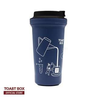Toast Box River Wall Mug Blue