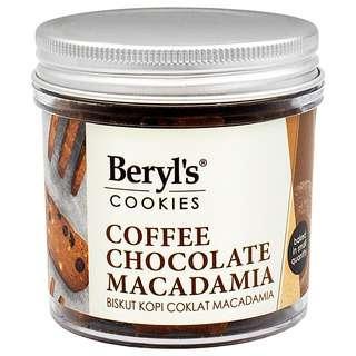 Beryl's Coffee Chocolate Macadamia Cookies