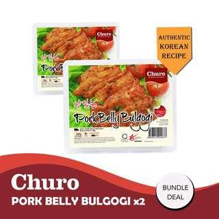 Churo Pork Belly Bulgogi Bundle of 2