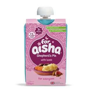 For Aisha Baby Food - Savoury Shepherd's Pie with Lamb Puree