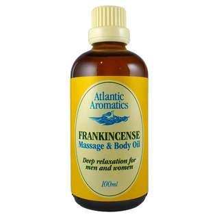 Atlantic Aromatics Frankincense Massage & Body Oil