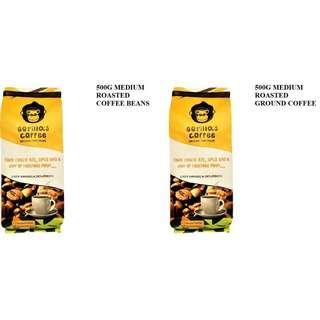 500G Medium Roast Bundle Gorilla's Coffee
