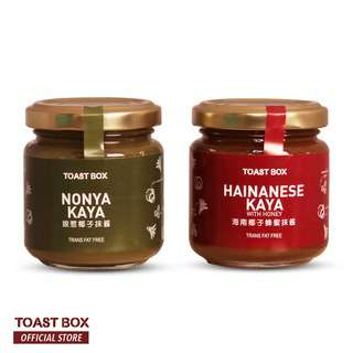 Toast Box Nonya + Hainanese Kaya set 100gm x 2