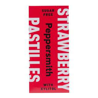 Peppersmith Strawberry & Vanilla Xylitol Pastilles