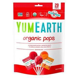 Yum Earth Organic Lollipops 20+