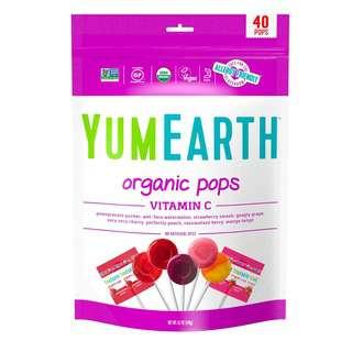 Yum Earth Organic Vitamin C Pops, 40+