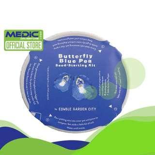Edible Garden City RGB Grow Kits - Butterfly Blue Pea