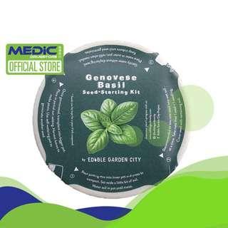 Edible Garden City RGB Grow Kits - Genovese Basil