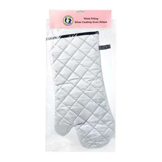 Dolphin Collection Cotton Oven Glove With Silver Coating